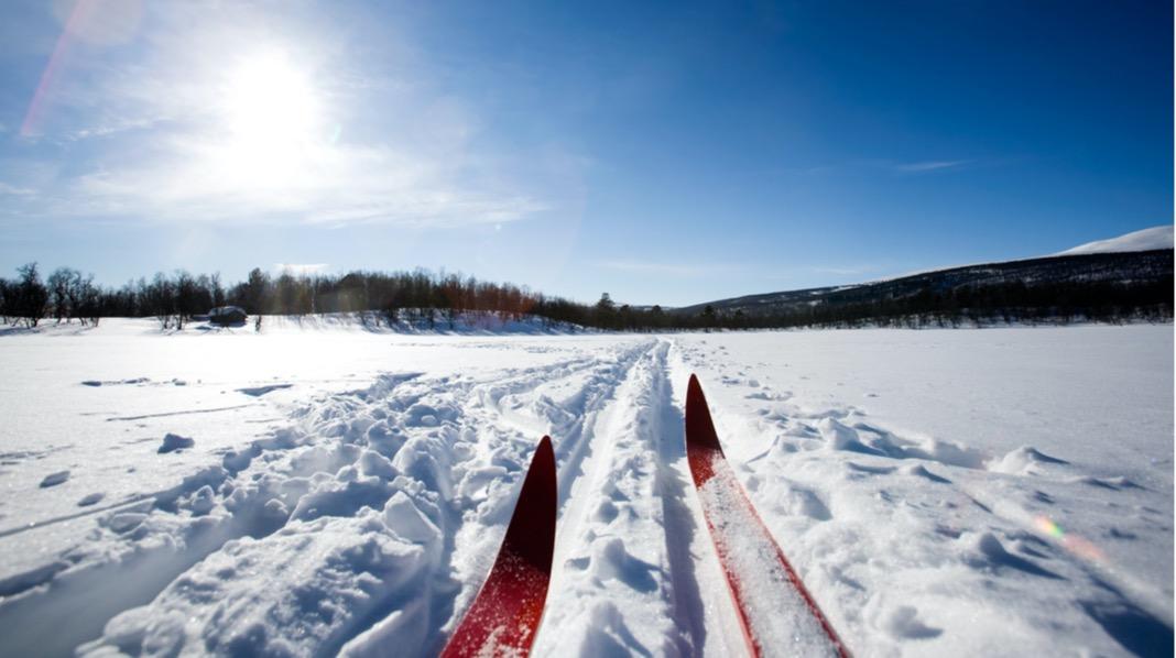 Skitur med pulk