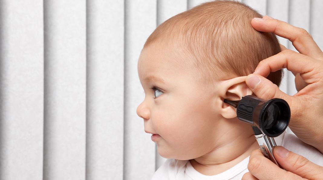 Har babyen ørebetennelse? Illustrasjonsfoto: iStock