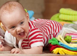 Størrelser på babyklær