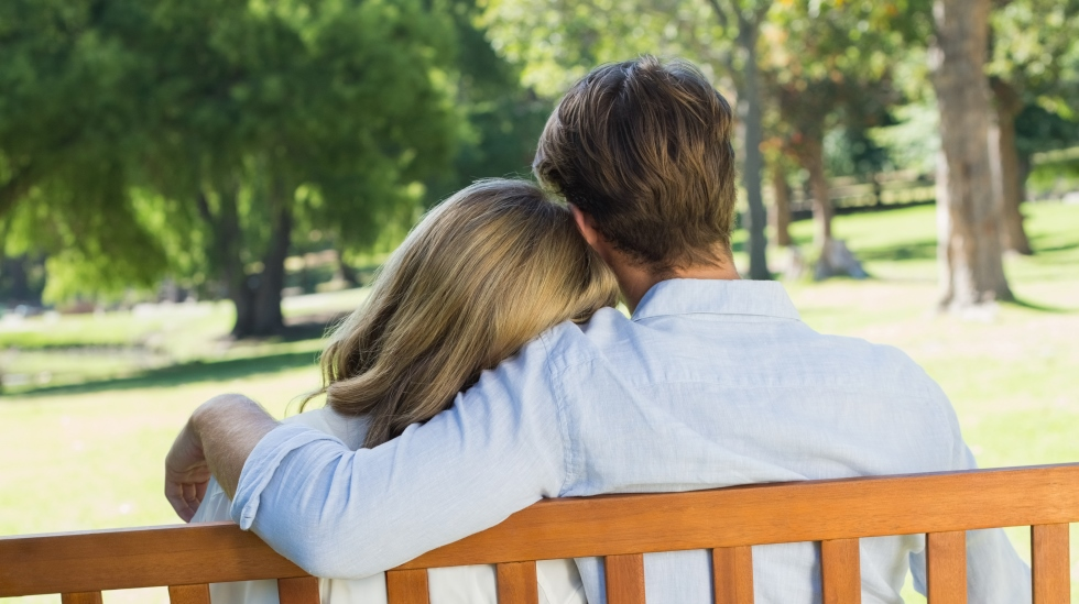 Det er normalt å føle seg tom og trist etter en spontanabort. Men heldigvis er sjansene store for å bli gravide igjen fort - med lykkelig slutt. Illustrasjonsfoto: Shutterstock