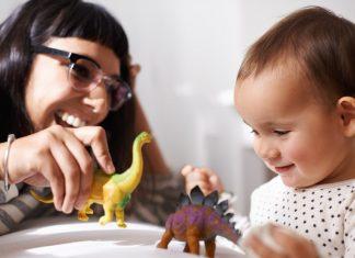 Leke med barn