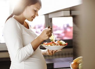 Sunt kosthold i graviditeten