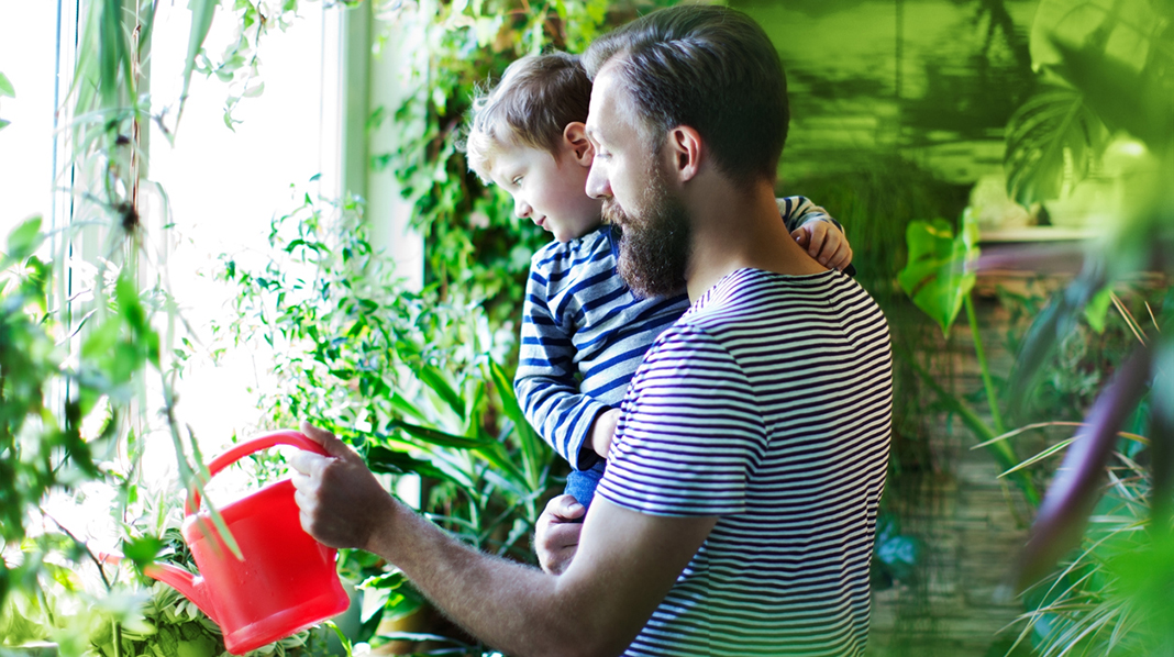Miljøvennlig barnefamilie?