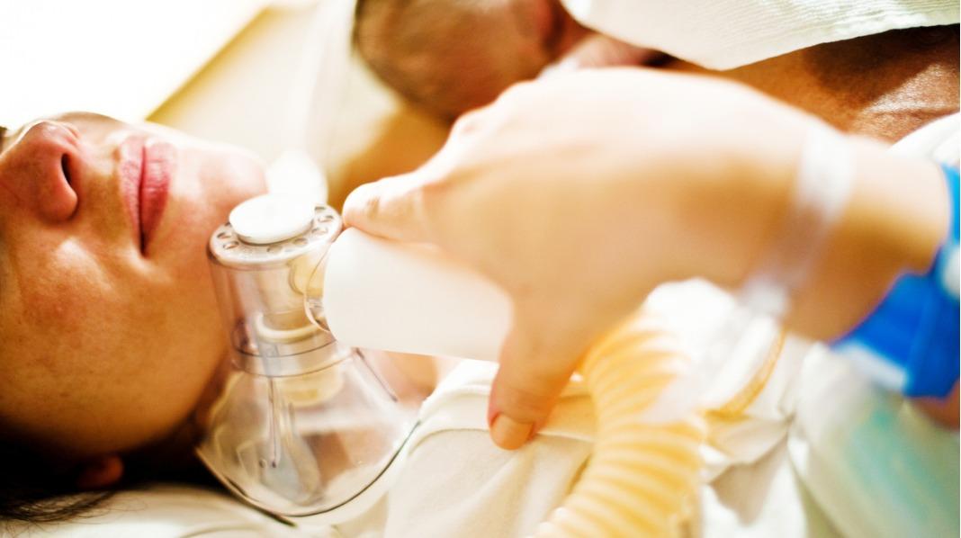 Noen har god hjelp av lystgass under fødselen. Illustrasjonsfoto: iStock