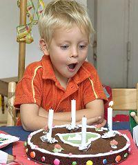 Bursdagskake hører vel med?
