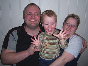 Adrian, Siw og Espen