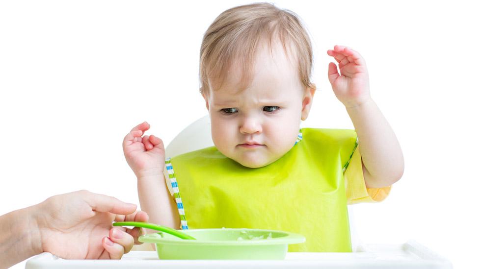 Hva gjør vi når barnet ikke vil spise? Illustrasjonsfoto: Shutterstock