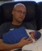 Pappa og Jan-Henrik