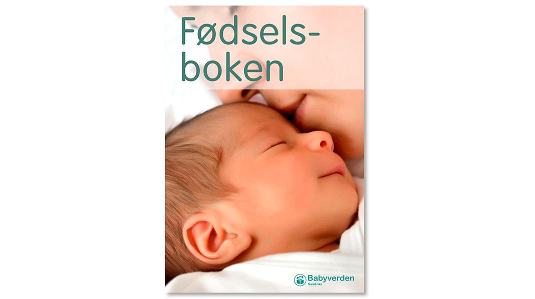Fødselsboken i appen Gravid og barn