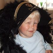 Fireåringen Lasse elsker Kaptein Sabeltann.