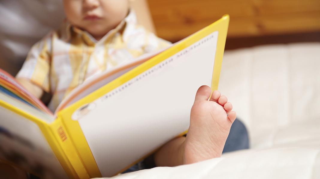 Kan spedbarn lese?