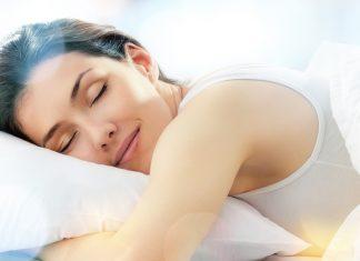 Gravid sove på magen