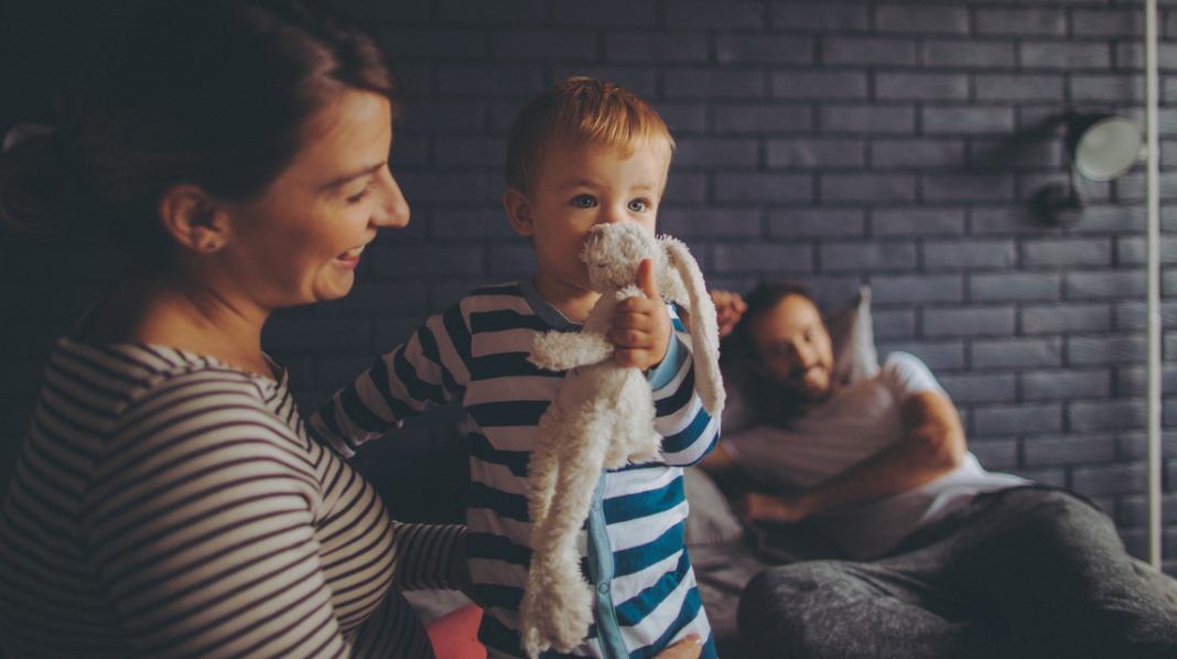 Mer tid med barnet enn partneren