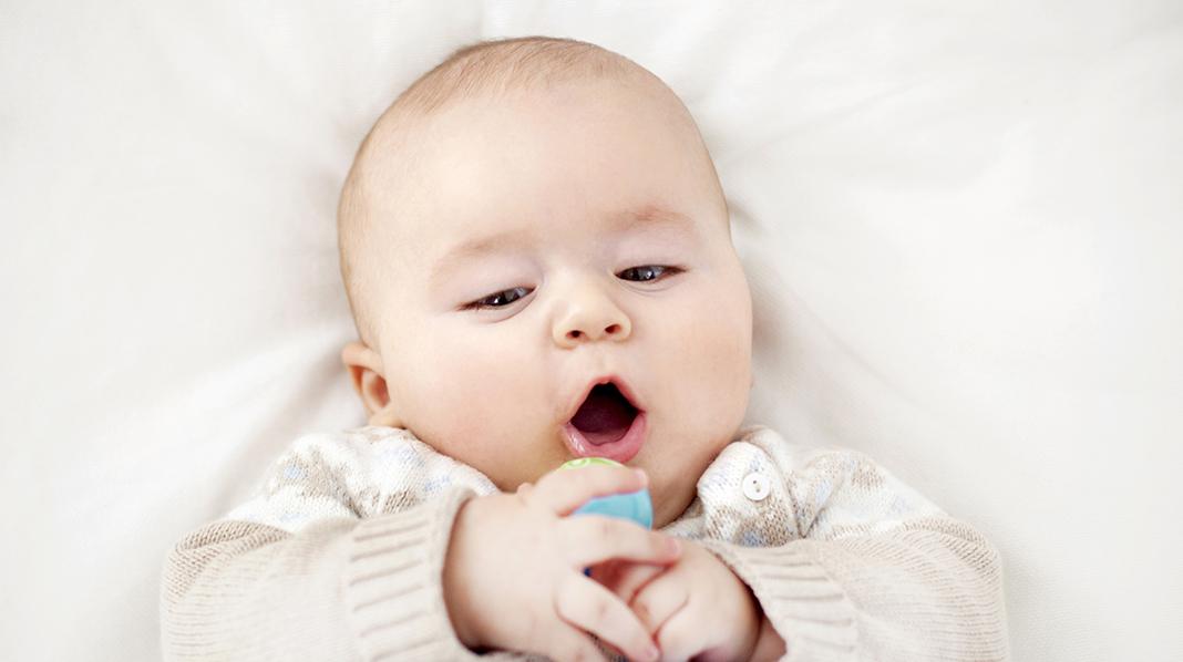 Babyens språkutvikling