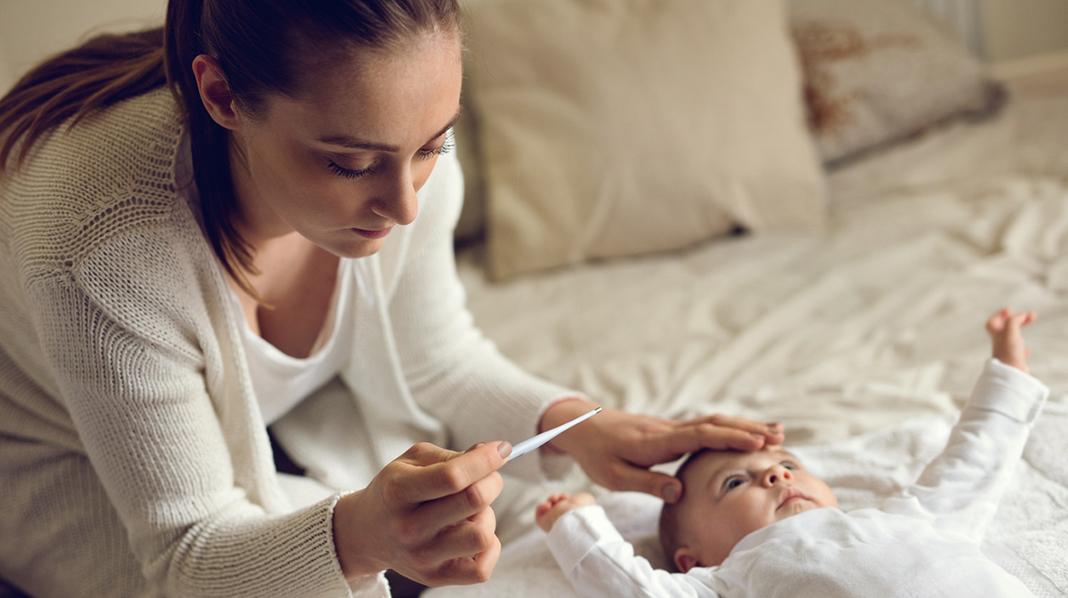 Sykt barn - engstelige foreldre