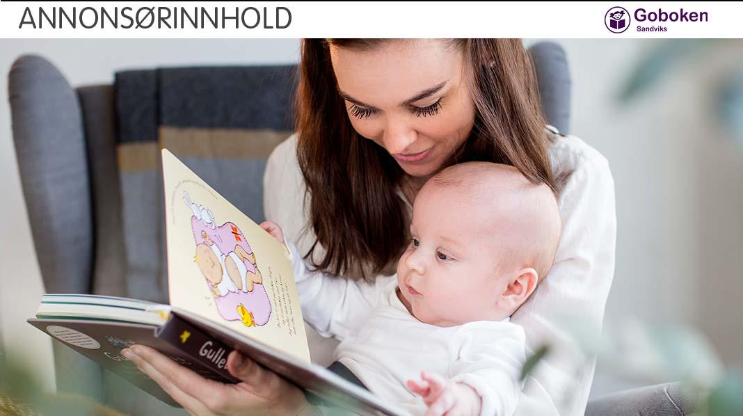 Lesing trenger ikke å foregå på sengekanten ved leggetid. Vær kreativ! Foto: iStock