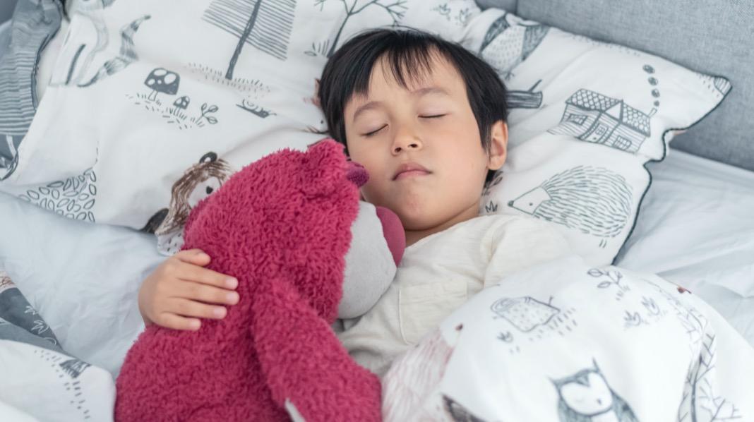 Søvn femåring