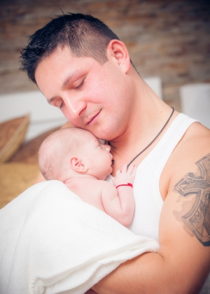 Hvordan forestiller du deg som pappa? Og hvordan forestiller hun deg som pappa?