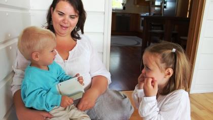 Små babyer gjør seg forstått med tegn!