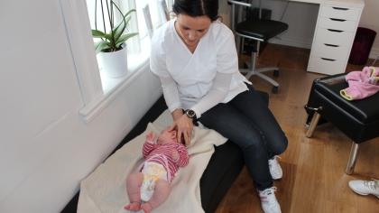 kiropraktor baby