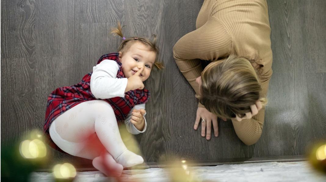 Slik oppfatter små barn julen