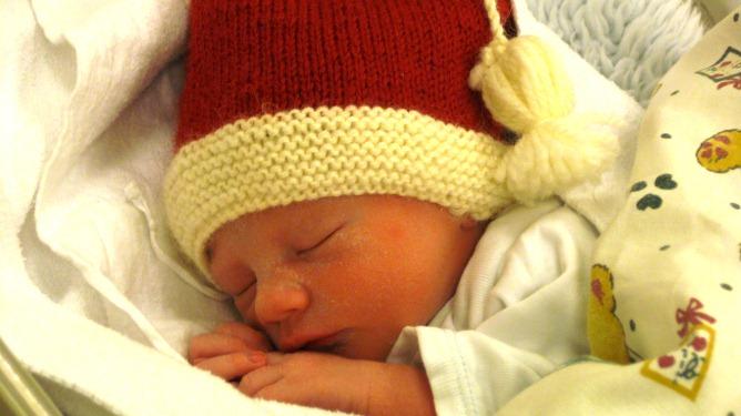 Nyfødte Angelica. Foto: Privat