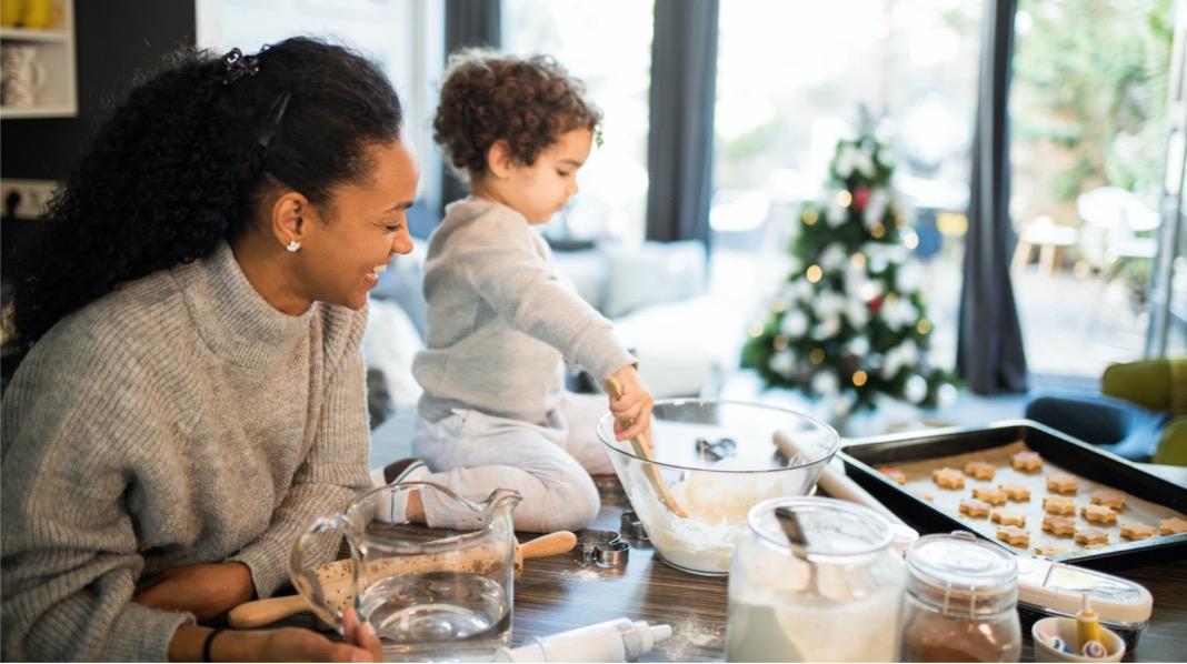 Juleforberedelser med barna