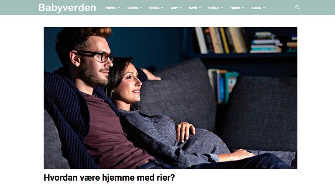 Norges største nettsted for gravide og småbarnsforeldre!