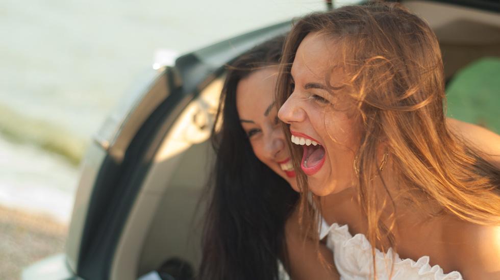 Mange gravide har opplevd å ikke ha 100 prosent kontroll på luft som vil ut... noen ganger blir det pinlig - andre ganger morsomt! Ill.foto: Shutterstock