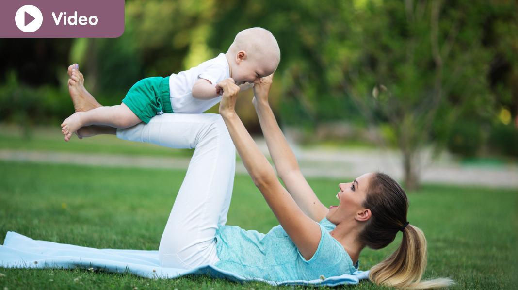 Lær deg øvelsene så kan du gjøre dem der det passer deg - for eksempel i hagen. Illustrasjonsfoto: iStock