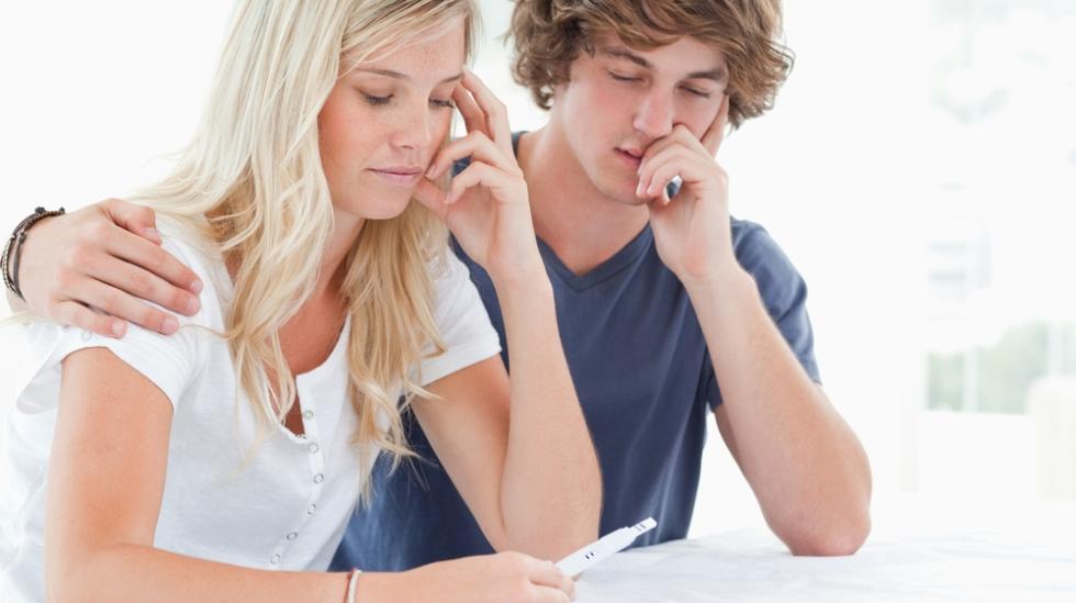 En uplanlagt svangerskap kan bety et vanskelig valg. Illustrasjonsfoto: Shutterstock