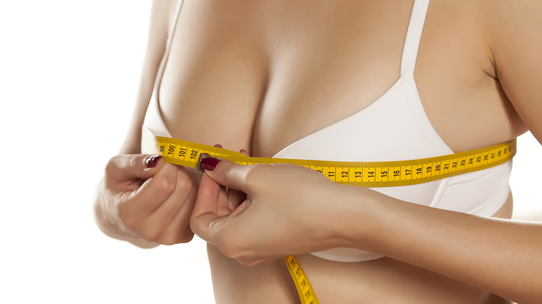 For å være sikker på at du kjøper riktig BH, bør du måle deg jevnlig. Illustrasjonsfoto: iStock