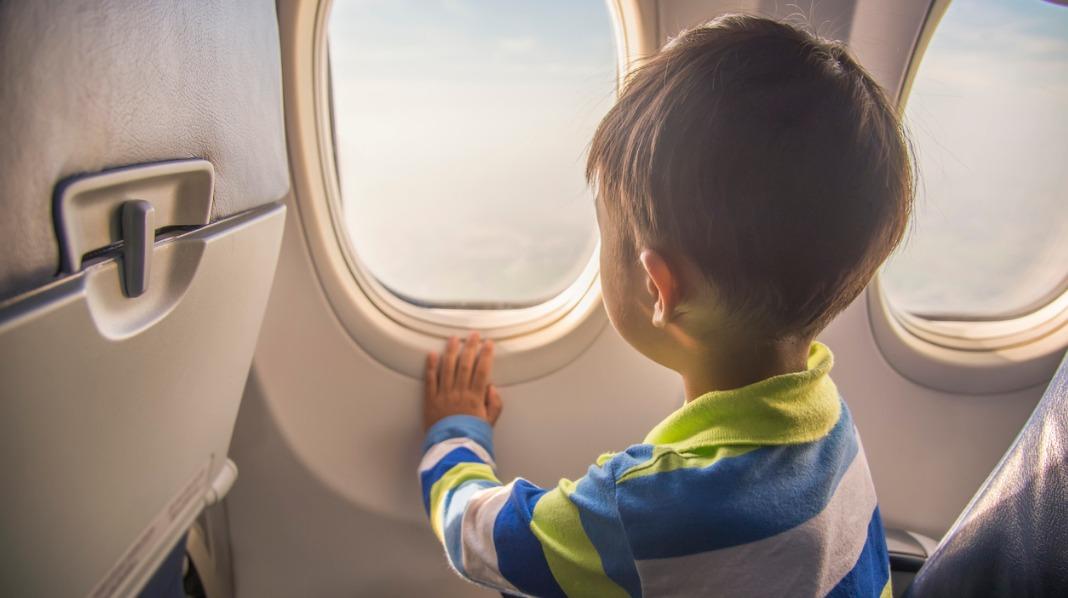 Barn reise alene