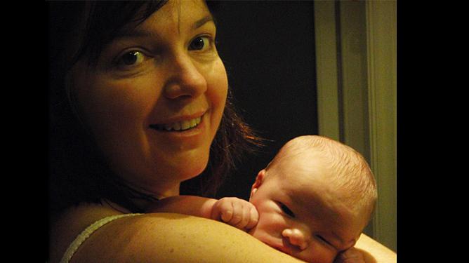 Petra Leonora ble født hjemme i sitt eget hus. Mamma Nina er veldig glad for at hun valgte hjemmefødsel da hun skulle få nummer tre. (Alle foto: privat)