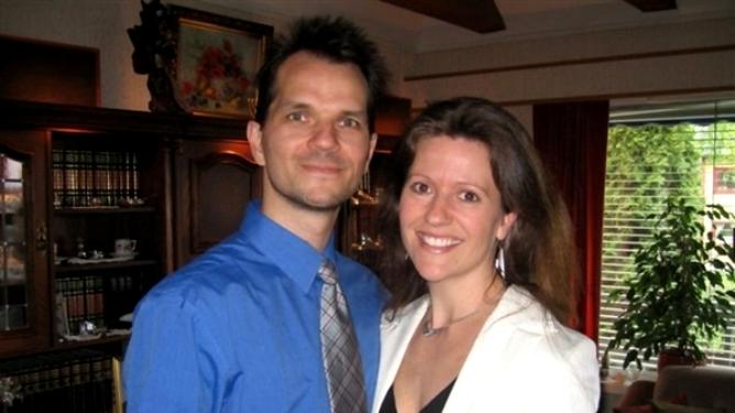 Inger-Anne og ektemannen Tibor trosser legenes anbefalinger, og ønsker å gi babyen i magen en sjanse. Alle foto: privat