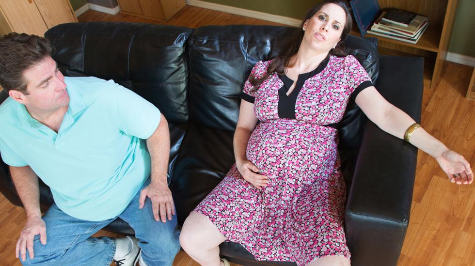 Stort sett alle gravide opplever svangerskapet som slitsomt iblant, men noen er hardere rammet enn andre. Illustrasjonsfoto: Shutterstock