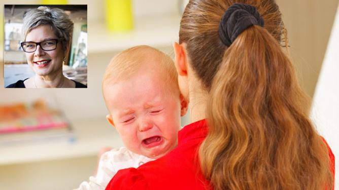 Mindre gråt hos barn og foreldre