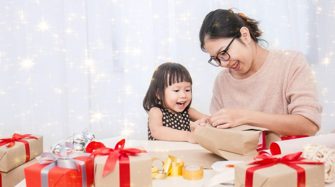 En liten julehilsen til barnehagepersonalet