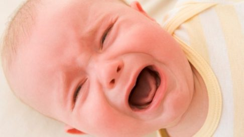 Hvordan trøste et gråtende barn