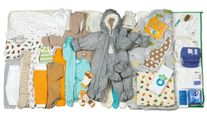 Masse klær og ustyr til alle mødre i Finland. Foto: Annika Söderblom © Gjengitt med tillatelse av kela.fi