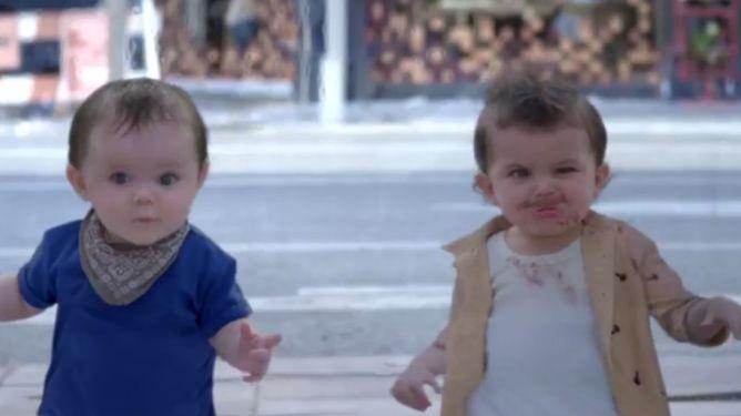 Dansende babyer i ny Evian reklame