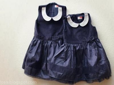 To like kjole til døtrene. Skulle hun kunne kjøpe en til når den lille ble født?