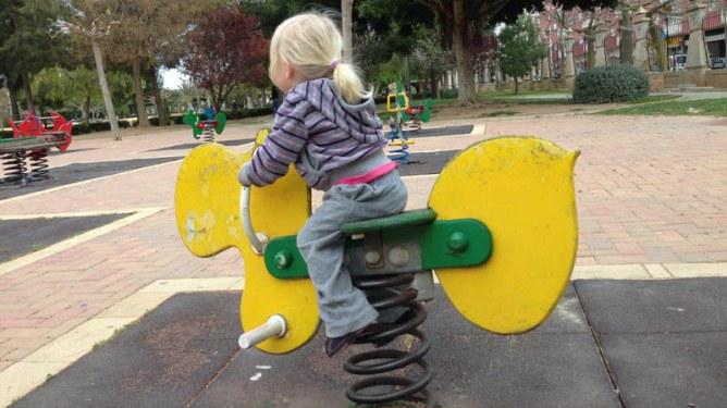 Mine regler på lekeplassen