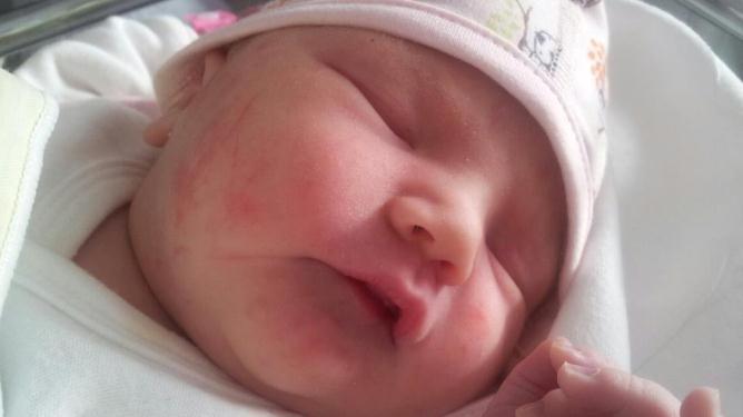 Nydelige lille Ida. Foto: privat