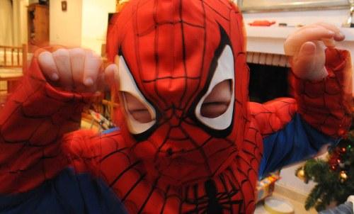 Jeg er ingen pris, for pokker. Jeg er Spiderman!