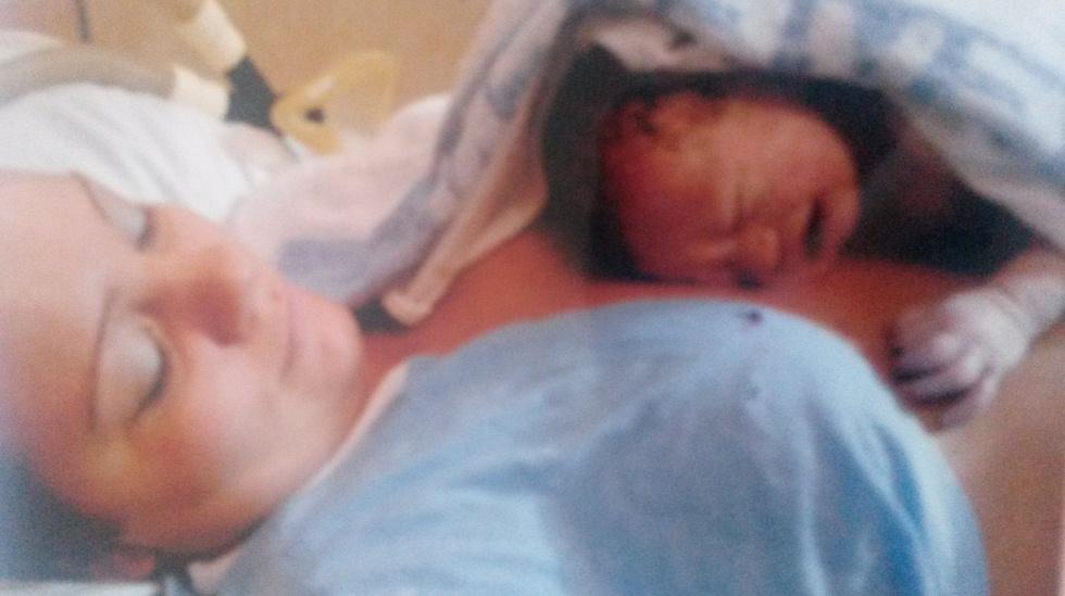 Min fantastiske fødsel!