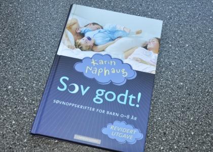 Boken som har hjulpet Ingunn å få tilbake nattesøvnen. Foto: privat