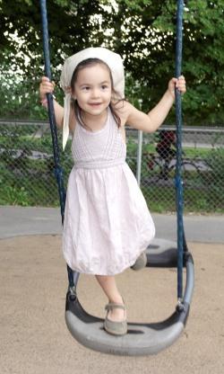 Kjært barn har mange navn: Lykke-Merlot Aurora April.