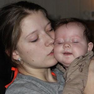 Det er herlig å være mamma! Foto: privat