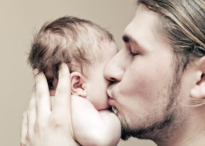På tide å snakke mer om farsfølelsen og? Illustrasjonsfoto: Shutterstock